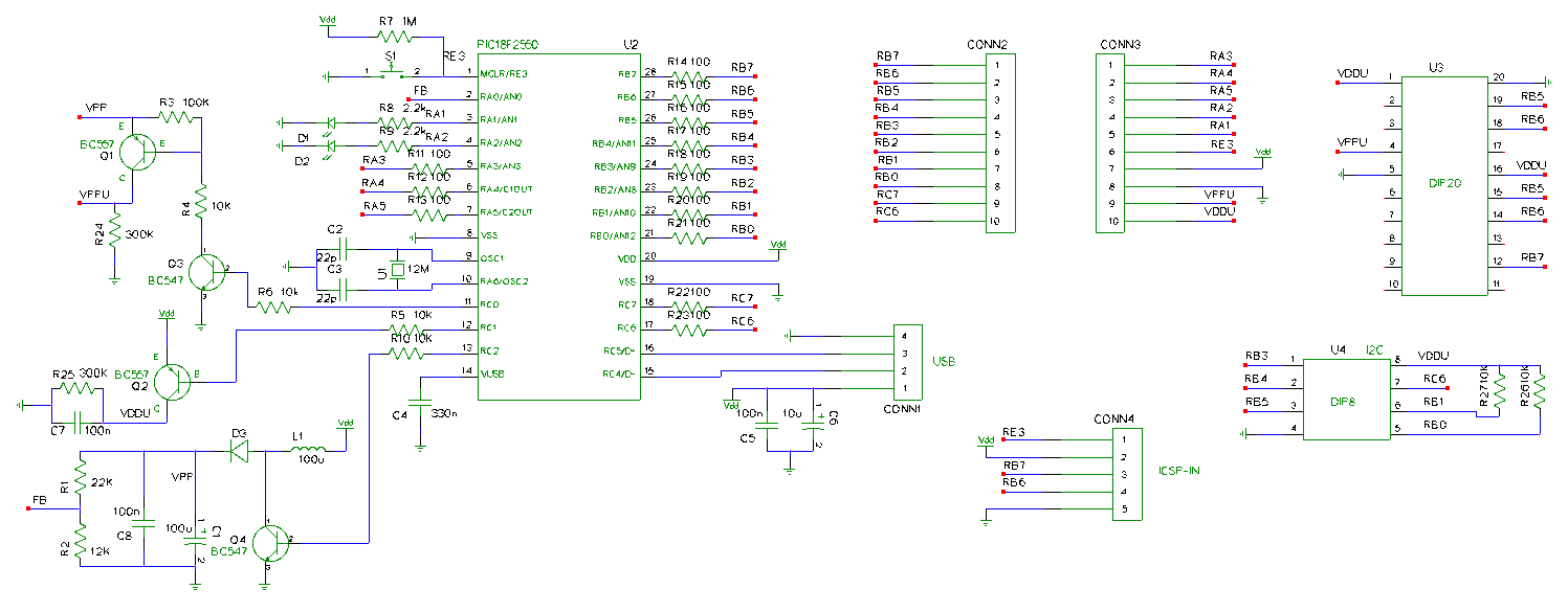Open Programmer Jastech2011 Simple Alarm Circuit Using 12c509 Schematic Diagram