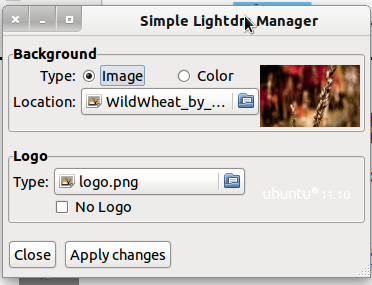 ubuntu cannot change desktop wallpaper